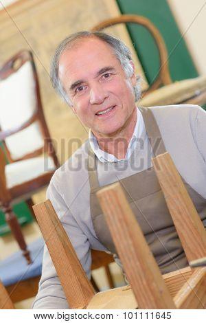 Senior furniture maker
