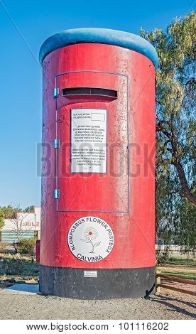 Huge Postbox In Calvinia