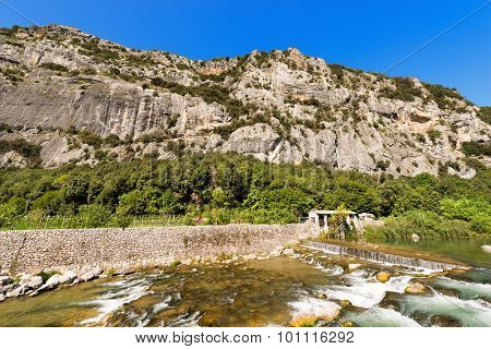 Rock Walls Of Arco - Trentino Italy