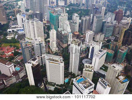 Downtown Area Of Kuala Lumpur