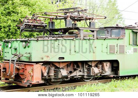 electric locomotive, Kostolac, Serbia