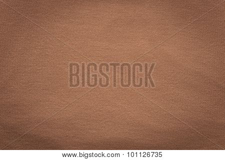 Texture Knitted Fabric Of Old Brown Color