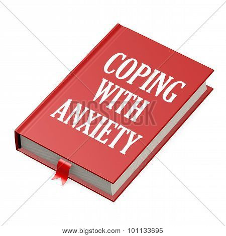 Book With An Anxiety Concept Title