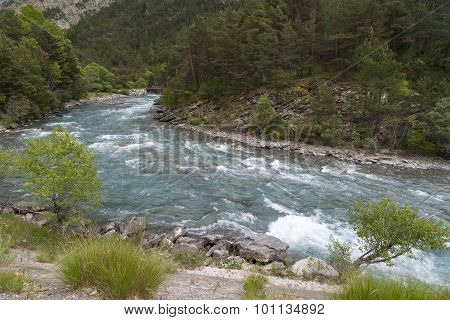 Ubaye River, French Alps