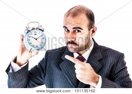 Alarm Clock Businessman