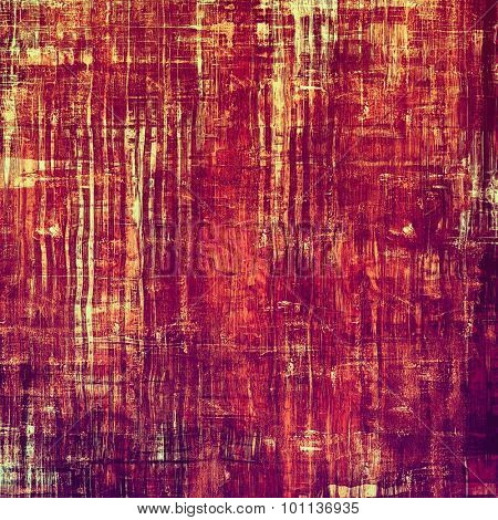 Old antique texture - perfect background with space for your text or image. With different color patterns: yellow (beige); purple (violet); red (orange); pink
