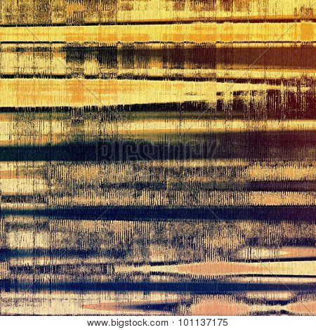Old, grunge background texture. With different color patterns: yellow (beige); brown; purple (violet); blue