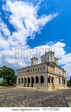Bucharest, Romania - September 01: The Patriarchate On September 01, 2015 In Bucharest, Romania. Par