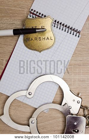 Notebook Police Detective