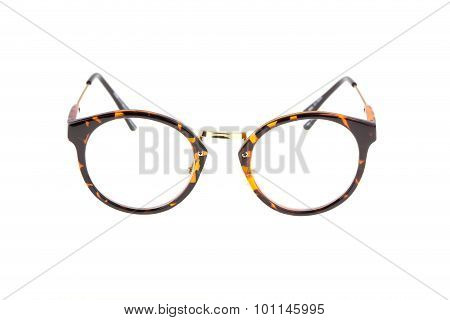 Eyeglasses Fashion Isolated On White Background
