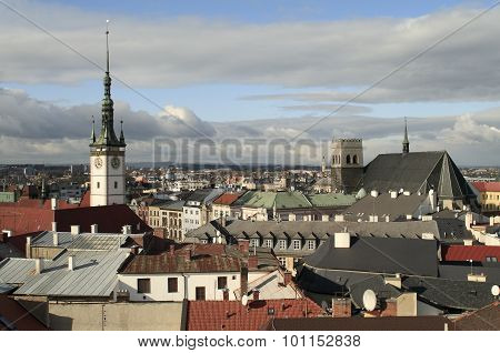 Towers of the Olomouc city