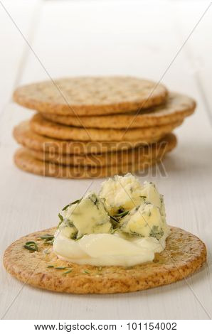 Biscuit With Butter And Gorgonzola