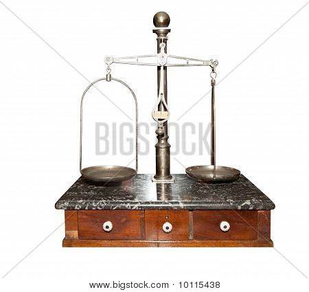 Ancient Chemist's Scales