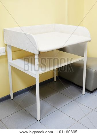 Interior of a pediatrician office