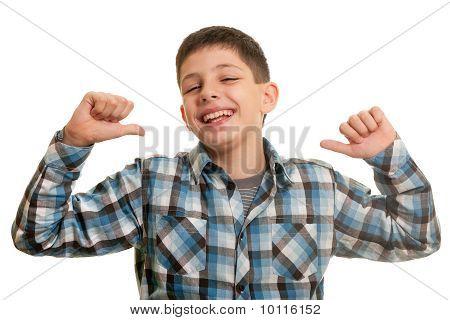 Happy Haughty Boy