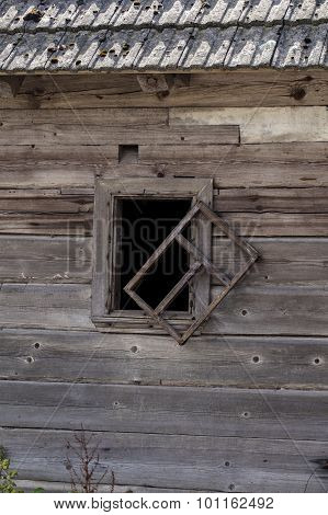 Old Dilapidated Window
