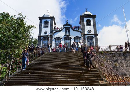 Our Lady of the Monte Church, Nossa Senhora do Monte,Funchal, Madeira, Portugal