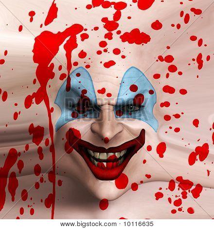 Skin Face Clown