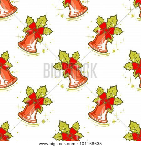 bells seamless pattern