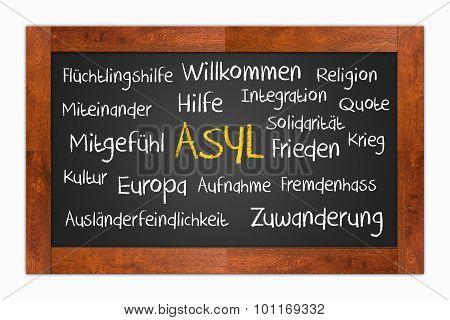 Blackboard - Asyl