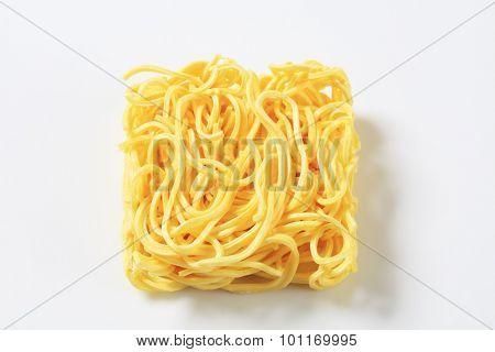 bundle of dried noodles