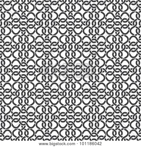 Seamless pattern of intersecting wires