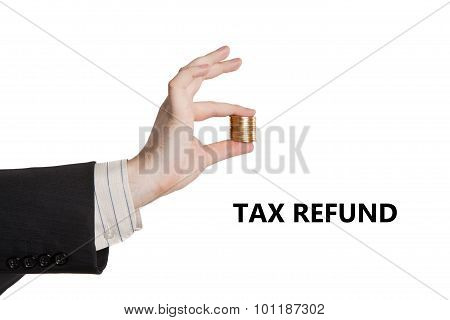 Metaphor For The Payment Of Tax Refund