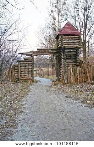 Wooden Castle In Lvov