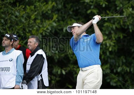 WENTWORTH, ENGLAND. 21 MAY 2009.Lee WESTWOOD ENG  playing in the European Tour BMW PGA Championship.