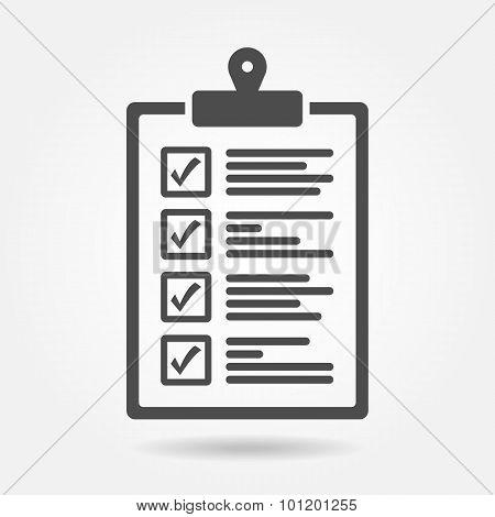 The checklist icon
