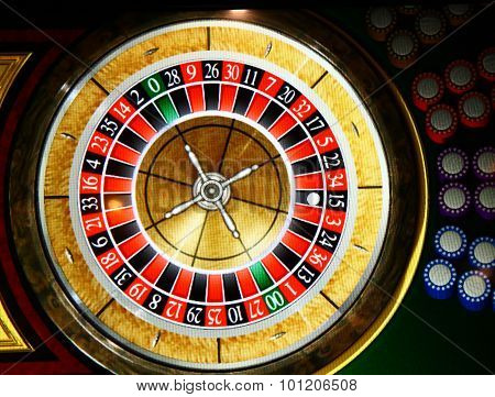 Roulette Wheel Stopped