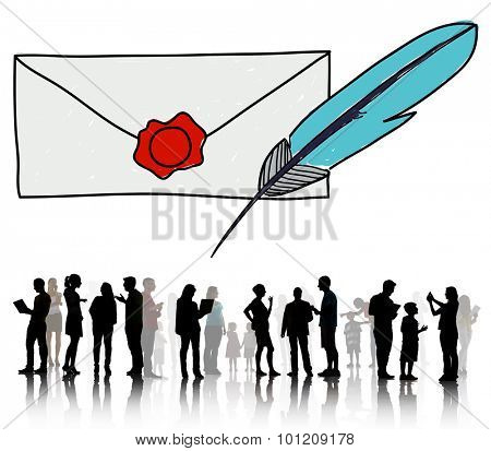 Mail Correspondence Communication Connection Concept