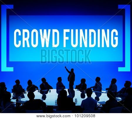 Crowd Funding Contribution Donate Fund Concept