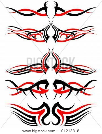 Setof Tribal Tattoos