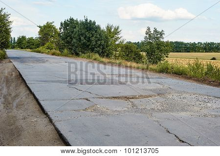 A Badly Damaged Road