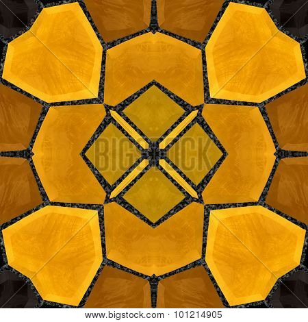 Image mosaic kaleidoscope