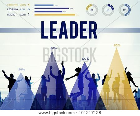 Leader Leadership Authority Chief Coach Concept