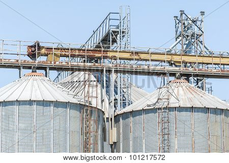 Storage Facility Cereals, And Bio Gas Production