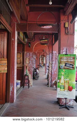 Jonker Street Is The Centre Street In Malacca