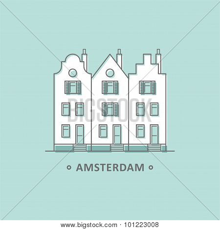 Netherlands. Amsterdam City.