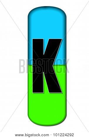 Alphabet Capsule K