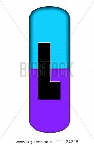 Alphabet Capsule L