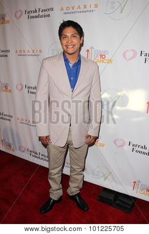 LOS ANGELES - SEP 9:  Johnny Ortiz at the Farrah Fawcett Foundation Presents 1st Annual Tex-Mex Fiesta at the Wallis Annenberg Center for the Performing Arts on September 9, 2015 in Beverly Hills, CA