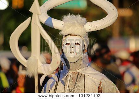 White Job Job costume