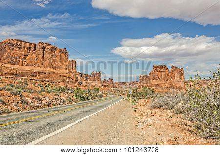 Entrada Sandstone Formations