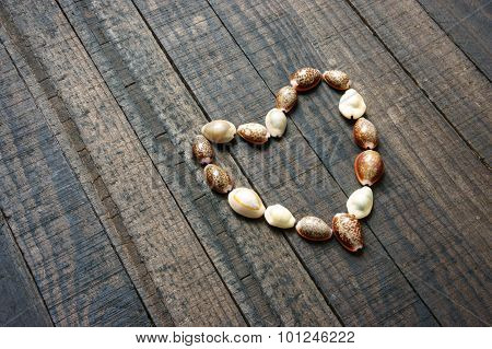 I Love You, Shell, Heart Shape, Valentine Day