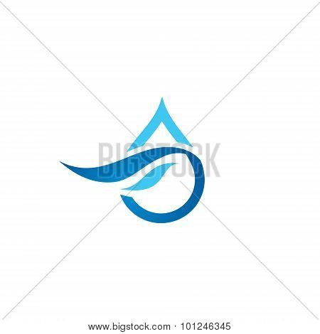 Premium Pure Water Abstract Sign
