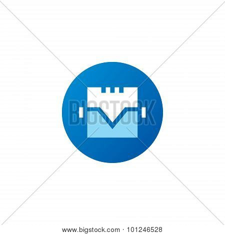 Motor vector sign. Sign of the letter T and M. Design template Isolated on a white background