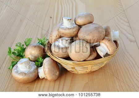 Cremini Mushrooms Brown Cap