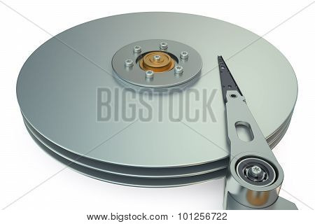 Hdd, Hard Disk Drive View Inside